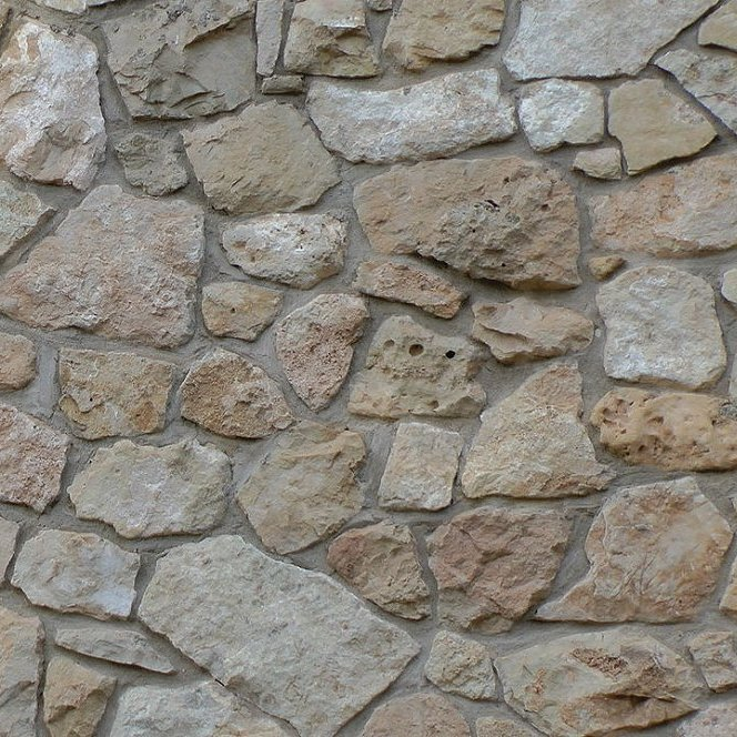 Rock Wall Lime Mortar